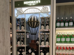 Backwall Hendrick´s Gin